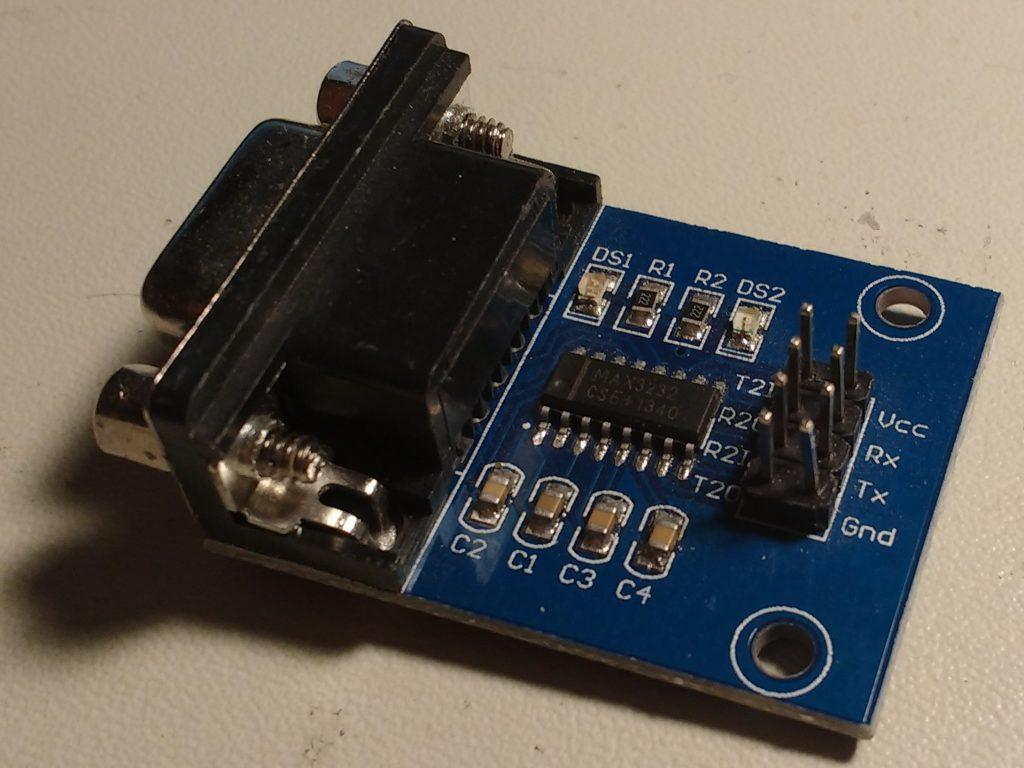 Fake MAX3232 Board