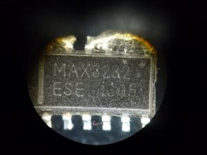 Fake MAX3232 Package